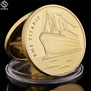 1912 Titanic Anniversary Memory Of Rms Victims Commemorative Tragedy Of The Titanic Collection Coin
