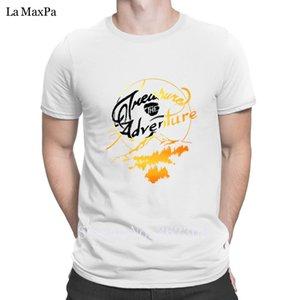 Design Comical T-shirt trésor L'aventure T-shirt homme Outfit pour les hommes naturels Tee shirt coton pour hommes Pop Top Tee