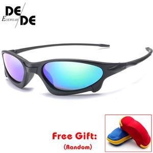 Quadro DesolDelos HD óculos polarizados Mulheres pequeno UV400 óculos de sol Men Espelho Oval Driving Óculos de sol com caixa