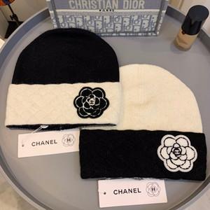 Sombreros otoño invierno para las mujeres de los hombres Marca diseñador de moda Gorros Skullies Chapéu casquillos del algodón Gorros Toucas De Inverno Macka B159
