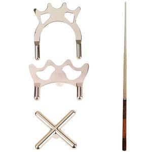 Rod Holder Pool Cue Stick Frame Pole Rack Copper Stick Frame Billiards Snooker Pool Cue Rest Bridge Head Holder Accessories 1pc