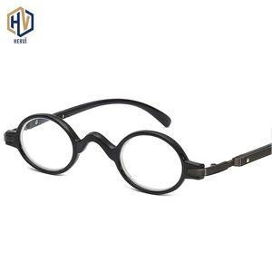Brillengläser Komfort Lesen Bifokalmarke Presbyopic Multifunktionsbrille Einfache Frauen Männer Hervi Mode-Plain-Linsen QIVBA