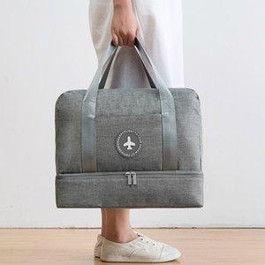 Su geçirmez Küpler Giysi Hafta Sonu Erkekler Büyük Kapasiteli Çanta Ayakkabı Bagaj Aksesuarları Ambalaj Bavul Çanta Kadın Organizatör Seyahat Barwa