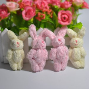 6Cm 5 Colors Soft Mini Rabbit Doll Plush Bunny For Kids Boutique Toy Doll Diy Ornaments Gifts M2828