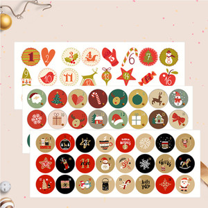 christmas ornaments 2020 Christmas gifts holiday stickers stickers Christmas party gifts cute digital stickers manufacturers spot