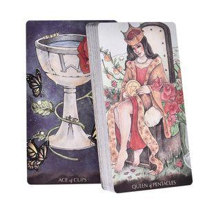 Kart Kartları Gemi Kehanet bbyfVt wrhome Çalma Kurulu Bırak Deck 78 Tarot Oyunları Kader İçin Aile Prens Tarot Of English Küçük Rehberlik