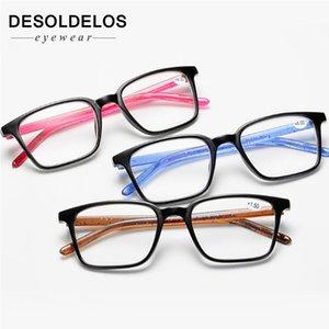 DesolDelos Erkekler Ultralight Okuma Gözlüğü Kadınlar Karşıtı Yorgunluk Okuma Gözlükler Kadın Presbiyopik Reçete Gözlük