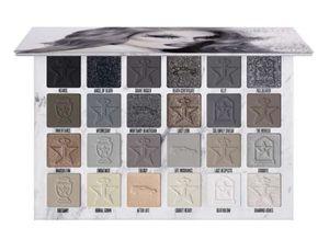 2020 Hot vente JS Crémation 24 EYESHADOW palette de couleurs brun gris mat Pressée poudre J étoile de haute qualité Ombres à paupières