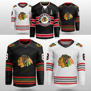 Chicago Blackhawks 2020 Concetto Patrick Kane Lehner Jonathan Toews 65 Shaw 77 Kirby Dach Duncan Keith Gustafsson Debrincat Hockey Jersey