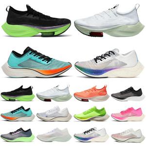 Nike Air Zoom Alphafly ZoomX VaporFly NEXT% Vapor Fly Lime Blast мужчины женщины кроссовки мужские кроссовки спортивные кроссовки бегунов