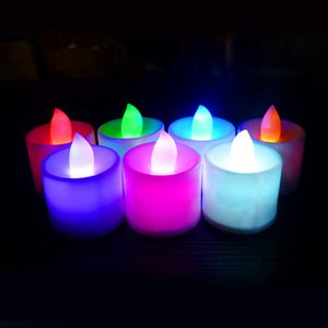 3.5*4.5 cm LED Tealight Tea Candles Flameless Light Battery Operated Wedding Birthday Party Christmas Decoration Wholesale
