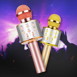 Bluetooth Handheld Karaoke Speaker Player, adequado para crianças e adultos da família KTV Partes, o novo estilo está quente