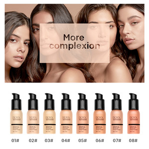 Concealer Liquid Foundation Brighten Moisturizing BB Cream Oil Control Waterproof Liquid Foundation Makeup