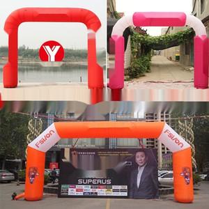 activités d'ouverture de la publicité arc-en-blanc publicité gonflable blanc ouverture arc carré activités gonflables arc arc-en-Place YTN