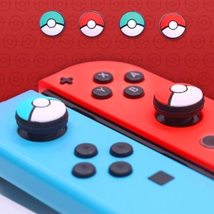 Switch Lite Thumb Grip Joystick Cap Thumbstick Caps For NS Switch Joy-Con Silicone Thumb Grips Handle Button DHL FEDEX EMS FREE SHIPPING