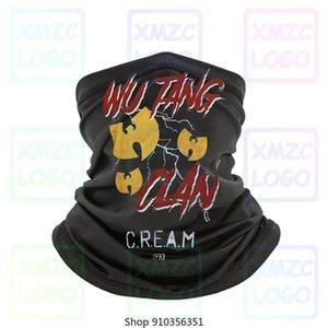 Синий Омывается Слоган Wu Tang Clan Бандана Добавить в Отложено Удалить из Отложено оголовье шарф Бандана Neck Warmer Женщины Мужчины