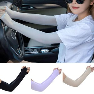 Arm Sleeves Silks Sun UV Protection Hand Protector Cover Outdoor Arm Warmer@88