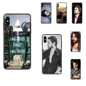 30 Seconds to Mars Jared Leto 4 pour Apple iPhone 11 12 Pro 5 SE 5C 6 5S 6S 7 8 X 10 XR XS Plus Max TPU cas souple couverture Capa