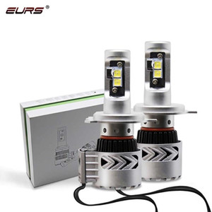 EURS 2PCS LED bulbs G8 Car headLights H11 led H4 H7 9005 9006 6500K 12000lm Automobiles Headlamps Conversion Kit Car styling