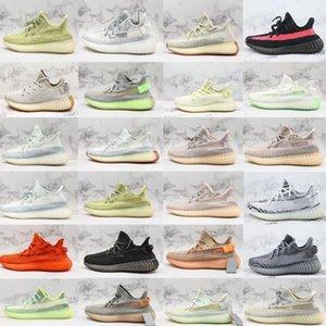 2019 novos quentes Yecheil Kanye homens temporada v2 mulheres verdadeira forma estática Designers Sapatos chaussures sneakers Bred 36-46b11b #