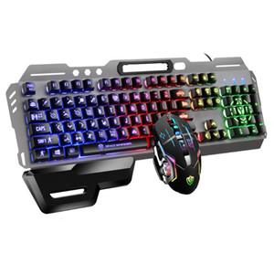 لوحة المفاتيح ماوس كومبو الألعاب قوس قزح الخلفية لإزالة سطح المكتب اليد الراحة للماء كتم ملحقات الكمبيوتر الميكانيكية