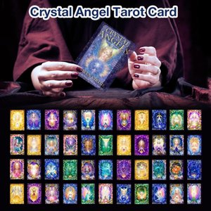 44 Sheets Card Games Deck Personal Playing Angel Cards Tarot Entertainment Cards Party Fashionable Durable For Crystal Oracle bbyAYf