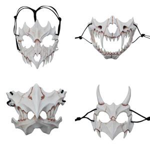 Japonais Dieu Dragon Masque écologique cosplay accessoires Masques Halloween latex naturel Party Supplies fête