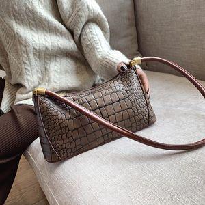 Crocodile Pattern Crossbody Bags for Women 2020 Sac A Main Purse Shoulder Bag Ladies Hand Bag Designer Messenger Bolso Mujer