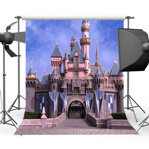 Mehofoto Princess Castle Backdrop Fotografia Brithday del partito di tema Photo Booth Sfondo Studio S-475