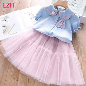 Kids Tracksuit For Girls Sets 2020 New Summer Toddler Girls Clothes Casual 2pcs Outfit Suit Children Clothing 3 4 5 6 7 Year