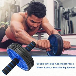 Двухколесный обновленный AB Брюшная полости прессы колеса ролики CrossFit тренажерный зал Упражнение для корпуса Фитнес