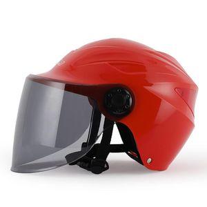 Мотоцикл Шлем для 4 Seasons Cascos Para Мото Open Face Motorcycle Helmet Безопасный езда Электрический велосипед касок Casco Moto