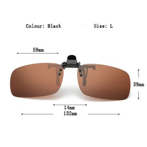 Polarized sunglasses with Clip cycling, night vision glasses, UVB anti-UVA cycling glasses for men and women