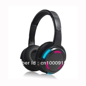 Envio Grátis!! DJ Silent Disco fone de ouvido estéreo sem fio headset RF989 com LED piscando