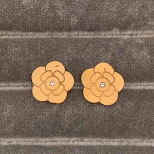 Отполированный выдалбливают Кольцо Цветы печати Серьги Золото Серебро Роза цвета нержавеющей стали шпильки уха для женщин партии подарков Оптовая