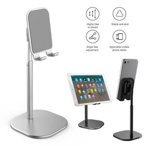 Tragbare Flexible Aluminium Handy Desk Stand Tablet Live-Desk Stand justierbarem Standplatz für iPad und iPhone
