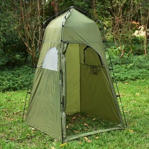 Portable Outdoor Shower Bath Tent Beach Tent Toilet Bath Changing Fitting Room Privacy Shelter Travel Camping WC Tents Gelert Tents Fe Q4lT#