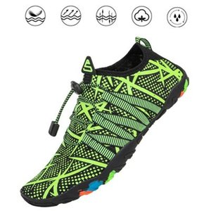 Wholesale-Shoes Men Breathable Aqua Shoes Women Rubber Sneakers Adult Beach Slippers Upstream Shoes Swimming Sandals Diving Water Socks