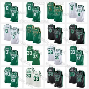 Jayson 0 Tatum Marcus 36 Smart Kemba 8 Walker Larry 33 Bird BostonCelticsJerseys Jaylen 7 Brown Gordon 20 Hayward Basketball
