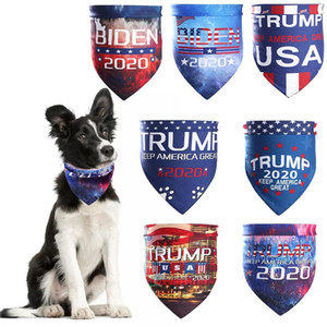 BIDEN TRIUNFO Animales Pañuelos adultos bufanda mágica 2020 el presidente estadounidense Donald Trump Elección Biden Carta Turban Perros Gatos Pañuelos BH3786 DBC
