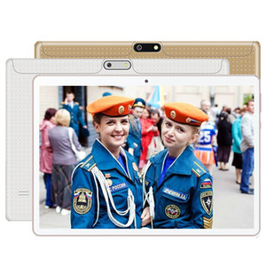 2020 Orginal Design New Google 10 inch Tablet Quad Core 16GB ROM Dual SIM 3G Phone Call GPS Android 7.0 1280*800 IPS Tablet pc