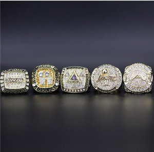 New Arrival 2000 2001 2002 2009 2010 5 championship ring set Super Bowl holiday gift for family and friends