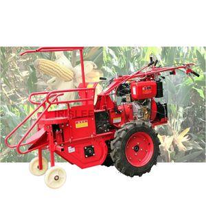 Sıcak satış yüksek kaliteli Kuru ve ıslak mısır hasat elle çalışan traktör, mini biçerdöver mısır