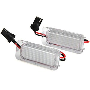 LED voiture plaque d'immatriculation lumière pour XF XJ X250 X351