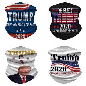 9 setyles печать Trump маски для лица Открытого Велоспорта Magic банданы Bib 3D Шелкового шарф Seamless Print защитных лицевых банданы DHC1427