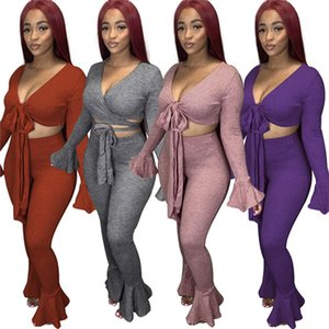 Women outerwear sexy sports suit designer tracksuit cardigan pantsuit fashion coats two piece set autumn new hot selling clothing klw5062