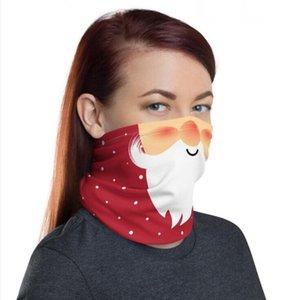 Face Shield Chirstmas Magic Kopftuch Outdoor Sports Stirnband Schals DUSTPOOF CYCING CYCING Headwrap Visier Hals Gaiter Weihnachten Decora DHC1512