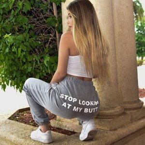 Женские брюки CAPRIS перестают смотреть на мой член спортивные штаны женщины 2021 печать пота случайные брюки Hippie Track Joggers