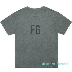 FEAR OF GOD 6TH FG LOGO T-Shirt FG INSIDE OUT Mens Shorts Sleeves High Street Hip Hop Fashion Oversized Tee HFWPTX d06