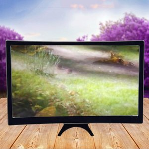 L6 Curved Screen Mobile Phone 12 Inch Hd Enlarged Screen Reduce Radiation Anti Blue Lens 1 Pcs